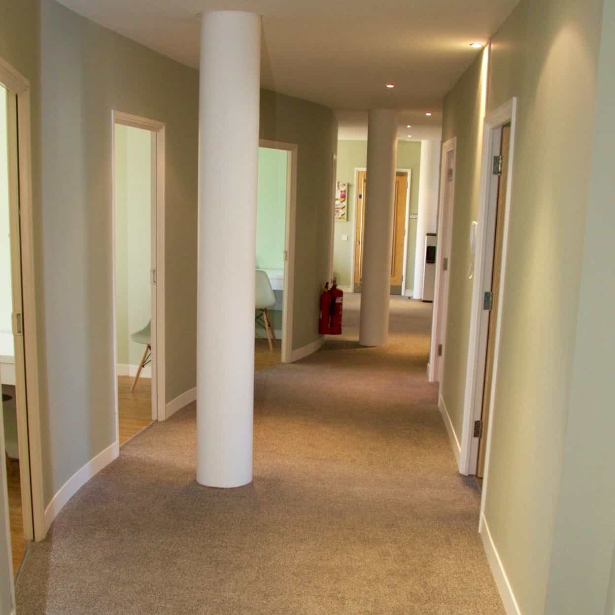 Hallway at the New Southfields Clinic